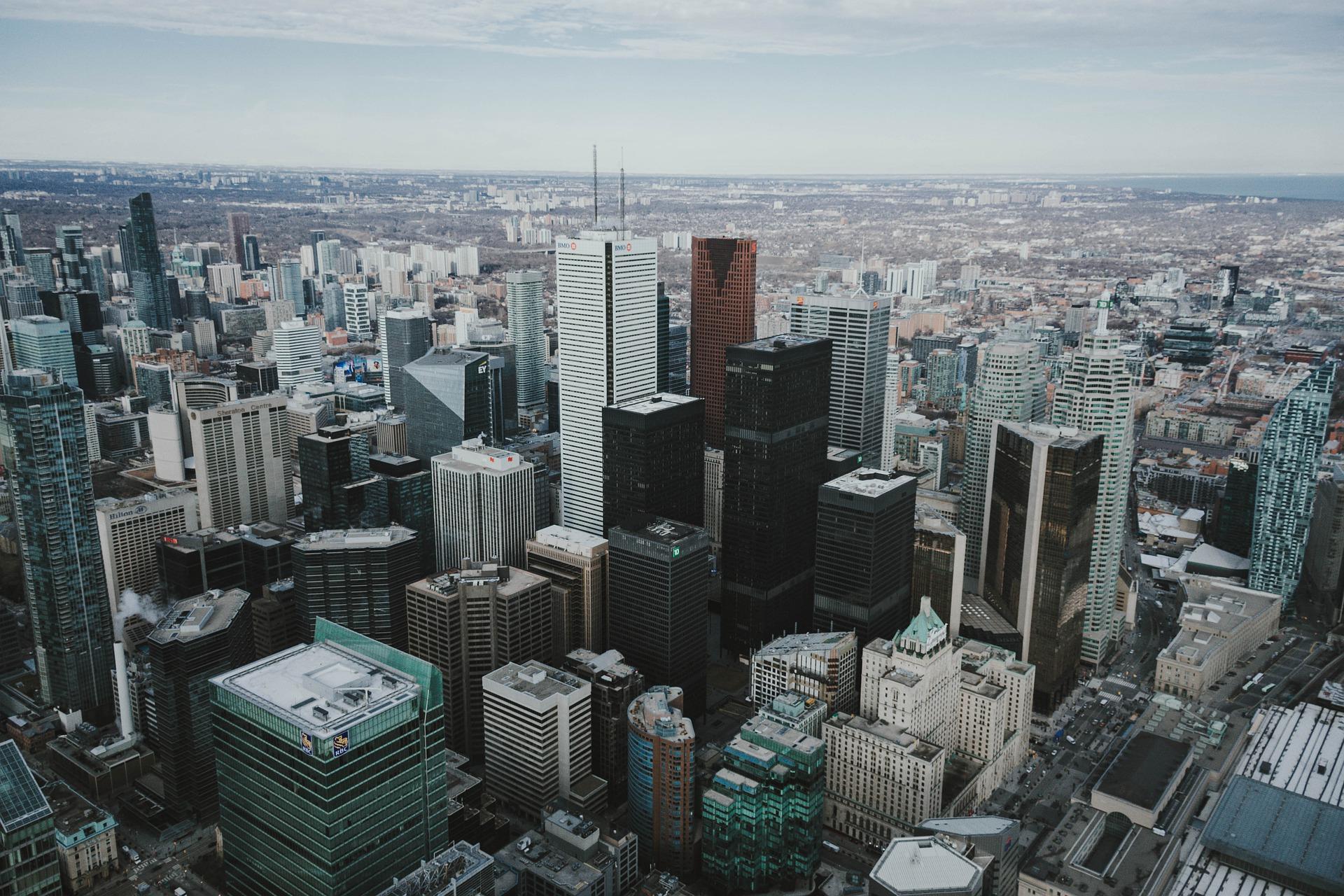Toronto, financial district