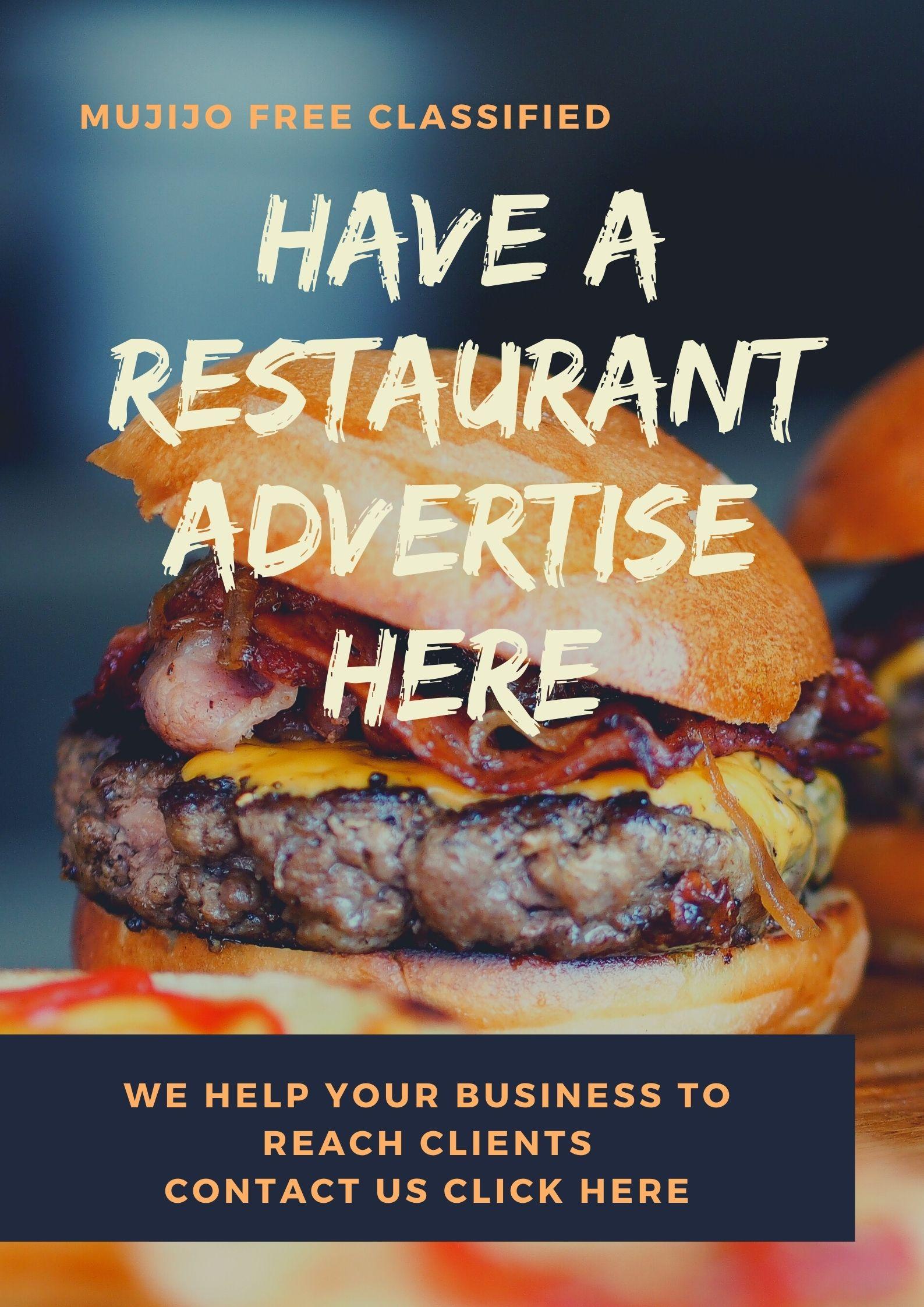 Restaurant advertisement